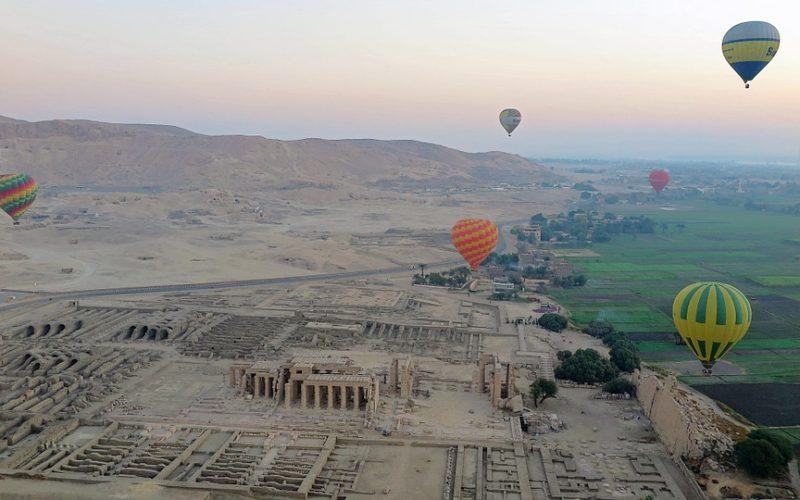 Údolí králů jako nejnavštěvovanější místo Egypta